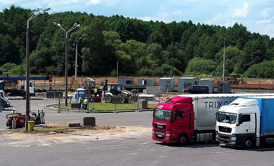 Ремонт в пункте пропуска «Берестовица». С 20 июля меняют схему движения большегрузов