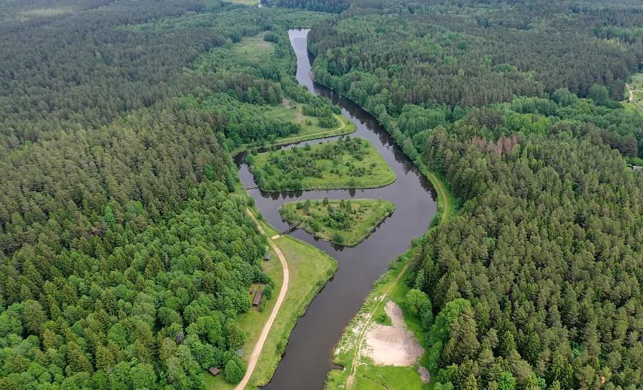 ФОТОФАКТ: Августовский канал с высоты птичьего полета