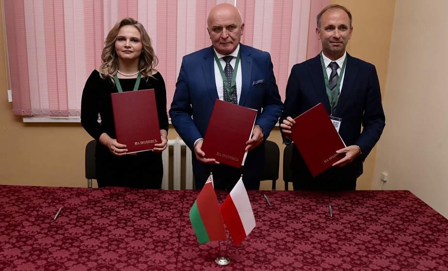 В первый день на «Еврорегионе «Неман»подписали трехсторонний договор о сотрудничестве