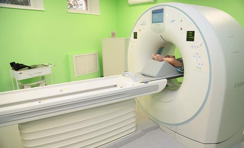 В Гродненской университетской клинике открыли новый компьютерный томограф