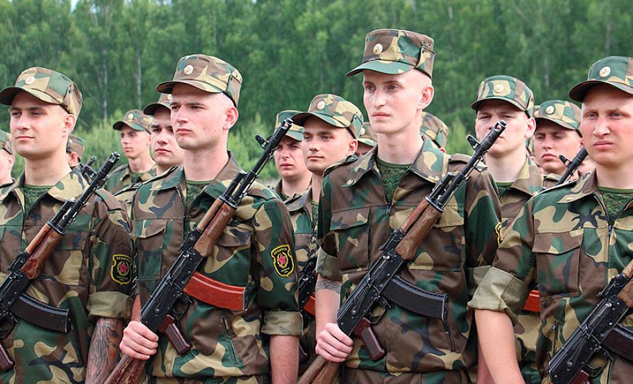Александр Лукашенко подписал указ о призыве на срочную военную службу в августе-ноябре 2019 года