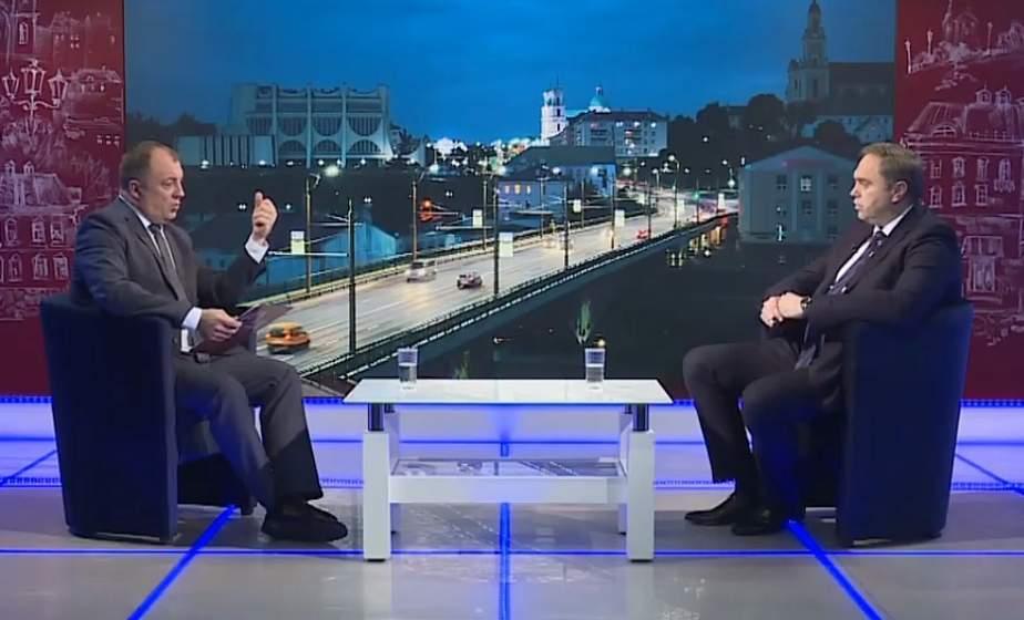Разговор с губернатором. Интервью председателя облисполкома Владимира Караника