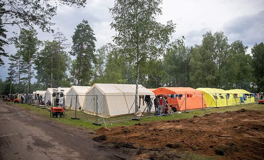 В Литве в лагере для нелегальных мигрантов вновь вспыхнули беспорядки
