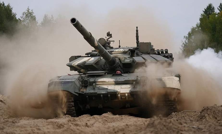 Белорусские военные отразили наступление условного противника на учении «Щит Союза — 2019»