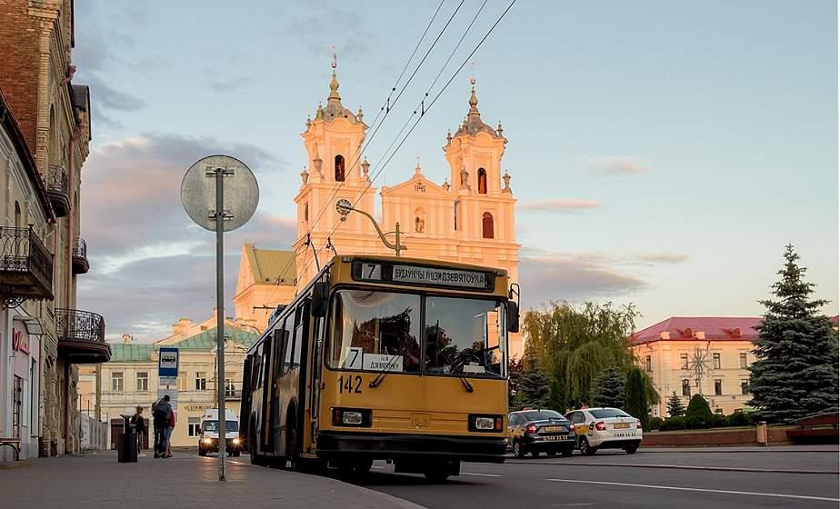 С 29 апреля троллейбусы в Гродно снова поедут по Большой Троицкой
