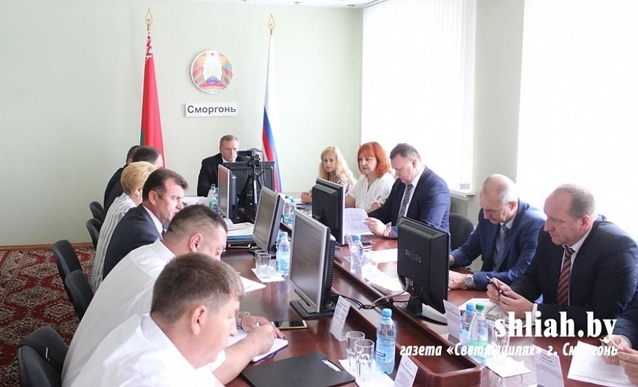 «Район развивается, но есть недостатки» — в Сморгони состоялась выездная коллегия Комитета госконтроля Гродненской области