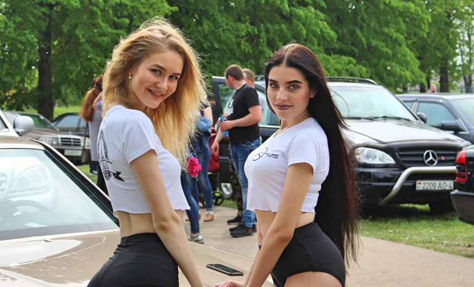 Фоторепортаж: Под Лидой в Тарново состоялся первый в Беларуси фестиваль Mercedes