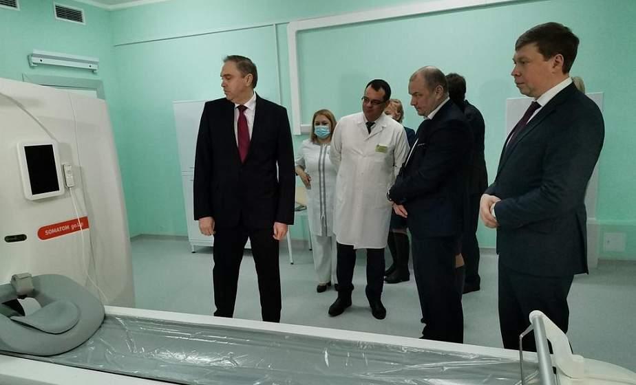 Новый 64-срезовый компьютерный томограф начал работу в Лидской районной больнице
