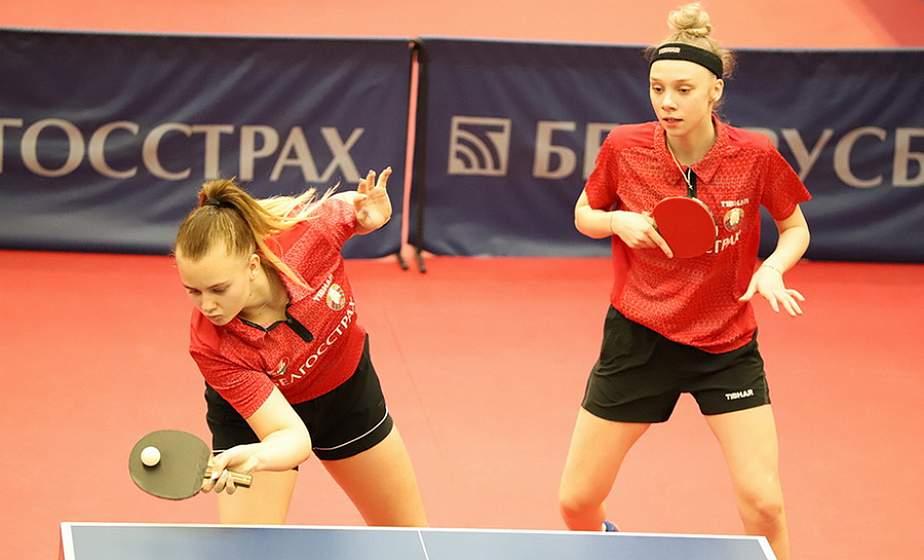 Вероника Воробьева из Гродно стала абсолютной чемпионкой первенства Республики Беларусь по настольному теннису