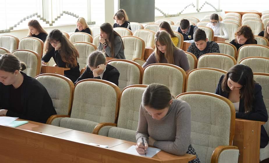 В Гродно прошел отборочный этап олимпиады школьников Союзного государства