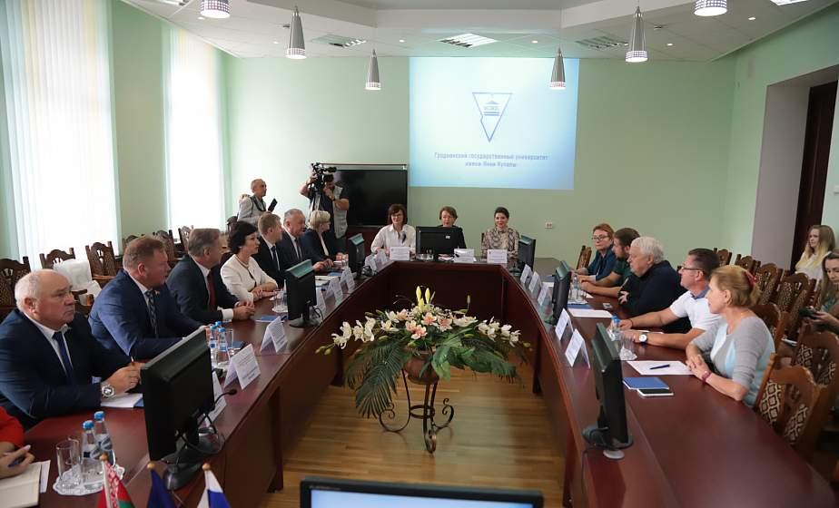 Делегация из Калининграда посетила с официальным визитом Гродненщину