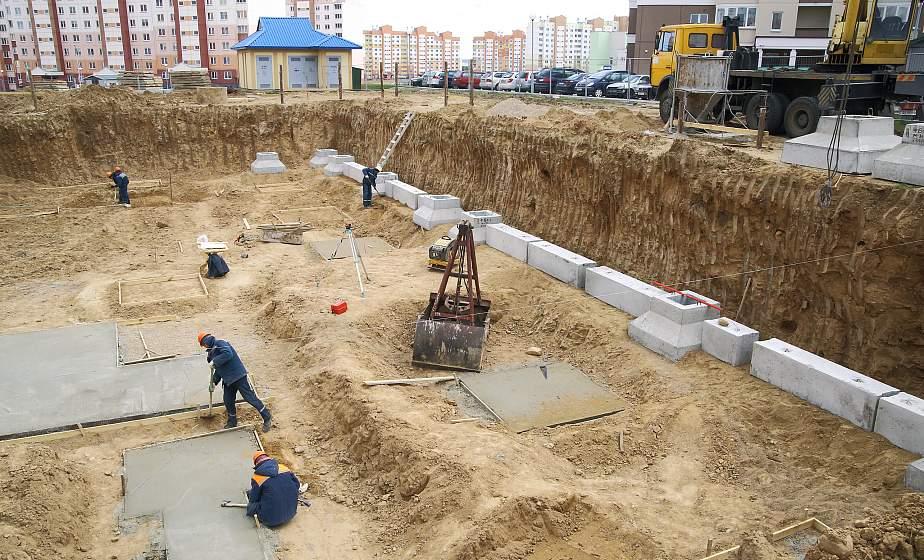 Сразу три блока новой гродненской поликлиники строят в микрорайоне Ольшанка