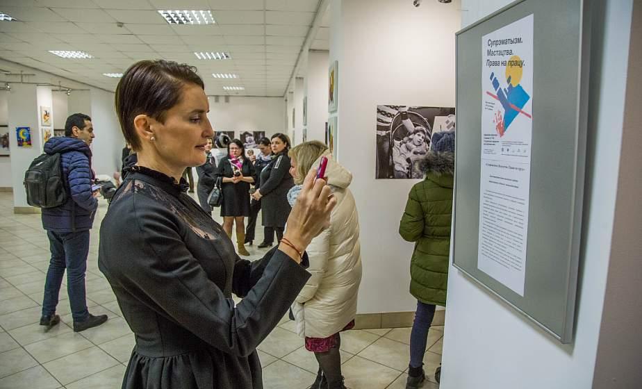 24 шедевра супрематизма. В Гродно работает уникальная выставка картин, нарисованных детьми с инвалидностью