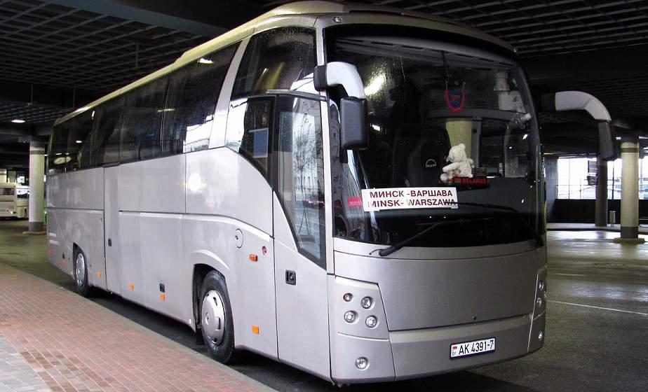 Автобусные рейсы из Беларуси в Вильнюс, Каунас и Варшаву возобновляются с 31 июля