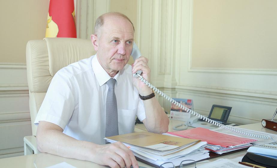 Владимир Кравцов: Люди небезразличны к проблемам общества и это гарантия того, что мы решим их вместе