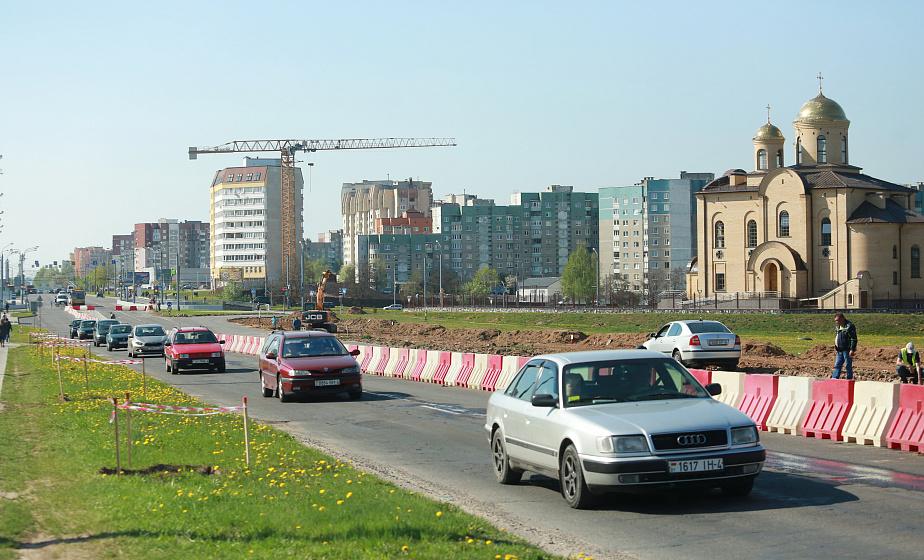 Как проехать с реконструируемого проспекта Янки Купалы и не попасть в пробку. ГАИ назвала основные маршруты