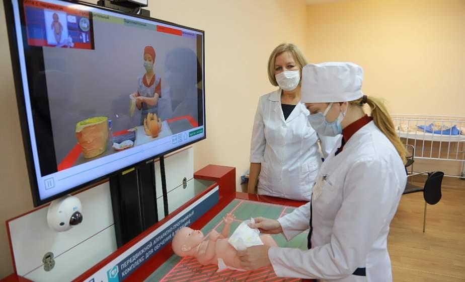 В аудитории, как в больнице. В Гродненском медицинском колледже откроется лаборатория по отработке навыков