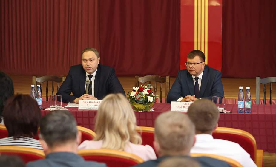 Владимир Караник: Инвестиции  приходят туда, где есть стабильность