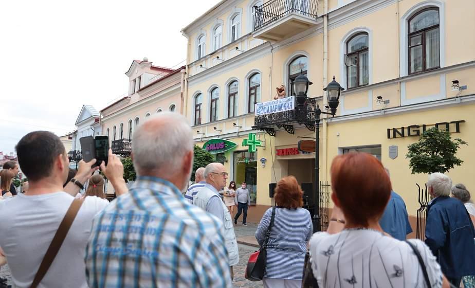 Концерты на балконах, почти сотня мастеров и презентация гобелена о матери-Беларуси. Что интересное можно увидеть в центре Гродно