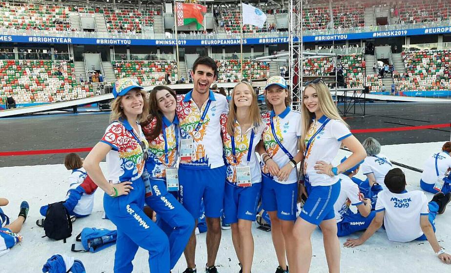 Какими II Европейские игры увидели волонтеры из Гродно