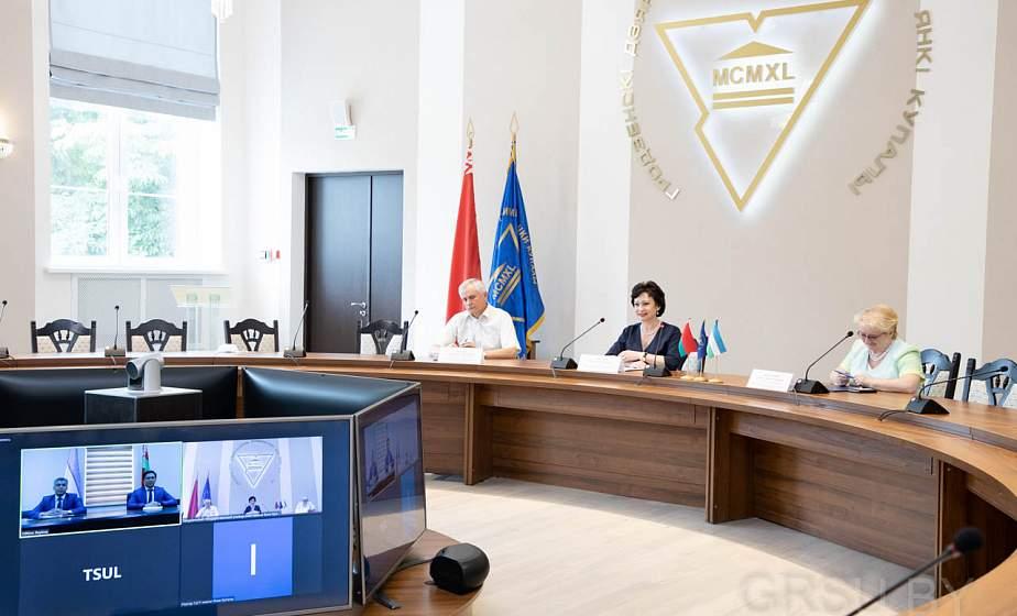 ГрГУ имени Янки Купалы будет готовить специалистов для юридической сферы Республики Узбекистан