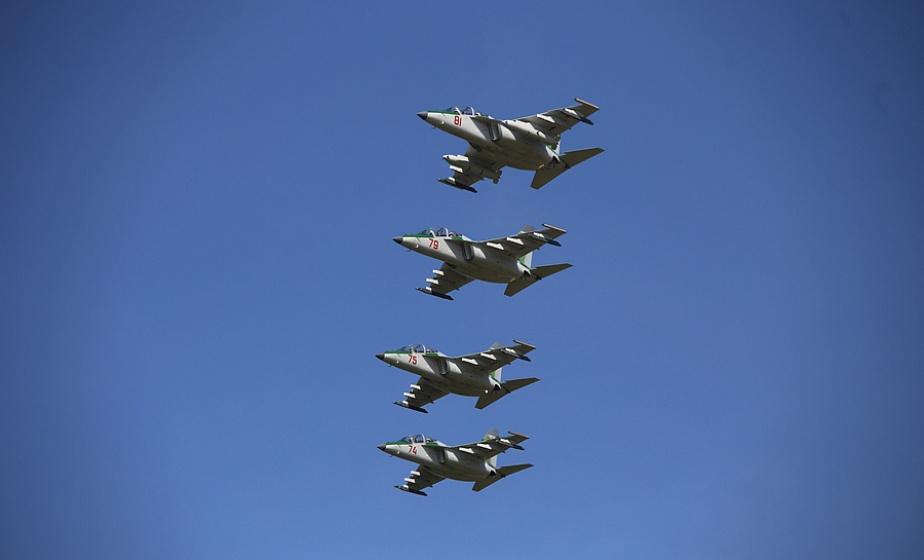 Полетят все – Як-130, Су-25 и Л-39. Летчики из Лиды завершают подготовку к военному параду по случаю Дня Независимости
