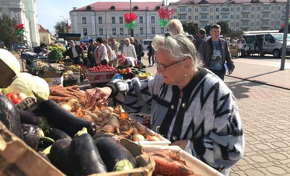 Овощи, мед, саженцы. Что можно купить на ярмарке сельхозпродукции в Гродно