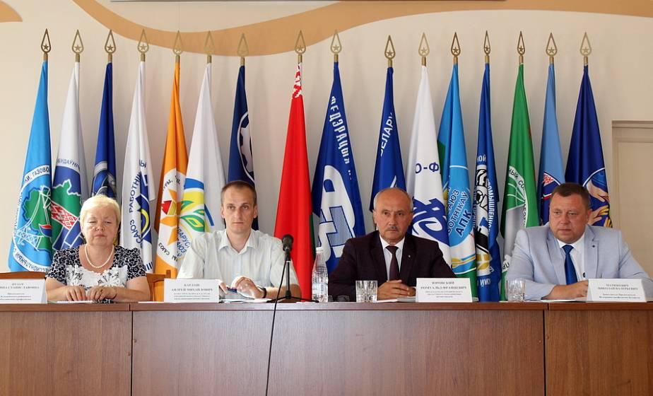 На заседании совета областного объединения профсоюзов подвели итоги работы за первое полугодие