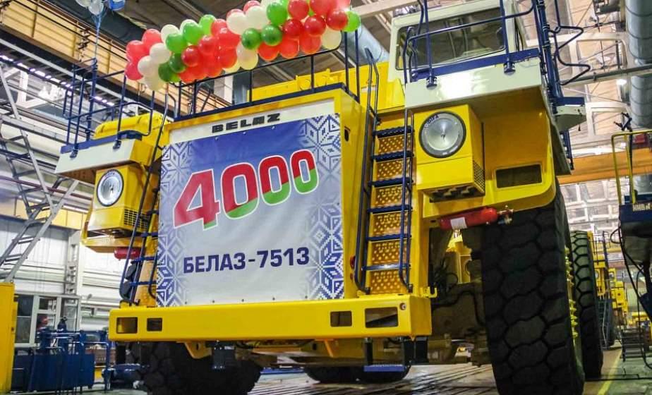 На «БЕЛАЗе» собрали четырехтысячный по счету 130-тонник. Его отправят в Россию