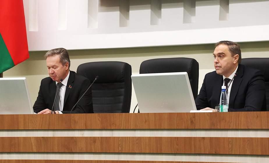 Итоги социально-экономического развития области в 2020 году рассмотрели на сессии областного Совета депутатов