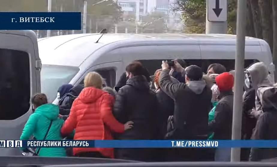 МВД: 4 октября за нарушение законодательства о массовых мероприятиях задержаны 317 человек
