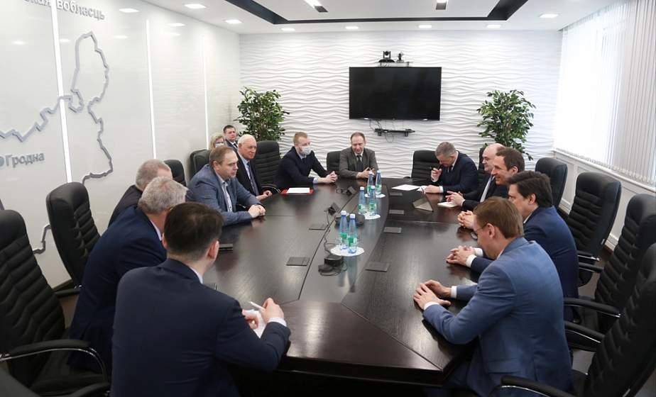 Обмен опытом и технологиями, совместные проекты. Гродненщина и «Российский экологический оператор» налаживают сотрудничество в переработке отходов