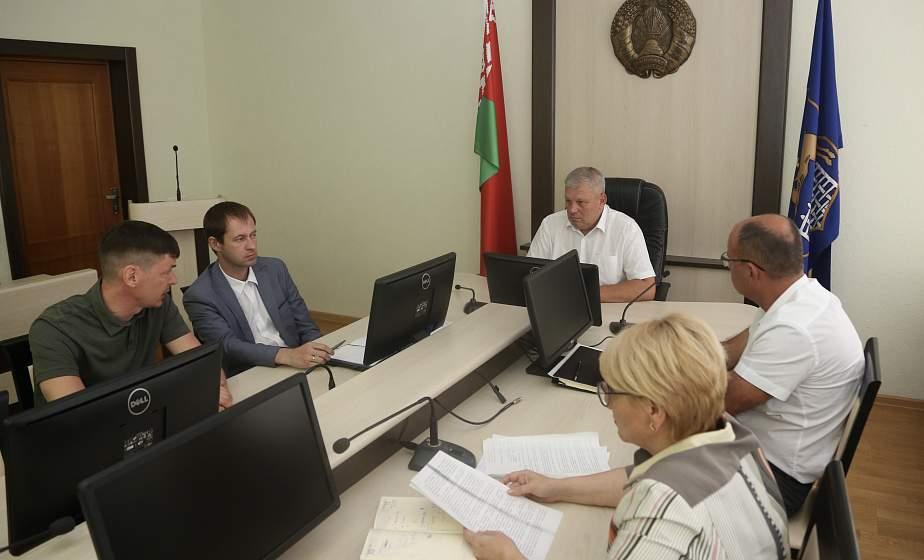 Встреча с предпринимателями. Руководство горисполкома встретилось с предпринимателями и представителями бизнеса в Гродно