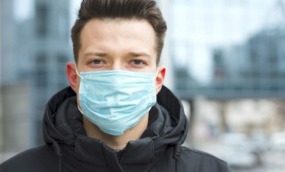 Медицинская маска. Как правильно ее носить. Инфографика