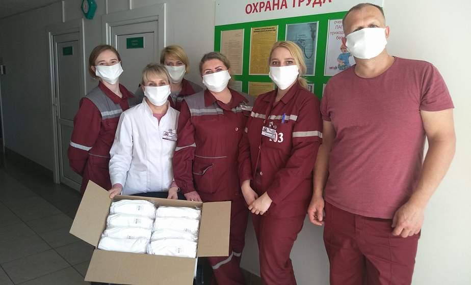 Более 335 000 рублей спонсорской помощи. Как промышленность, сельское хозяйство, частный бизнес и общественные организации помогают врачам Гродненщины?