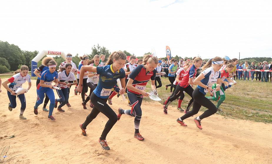 «Шахматы на бегу». Второй день чемпионата Европы по спортивному ориентированию прошел в Гродно