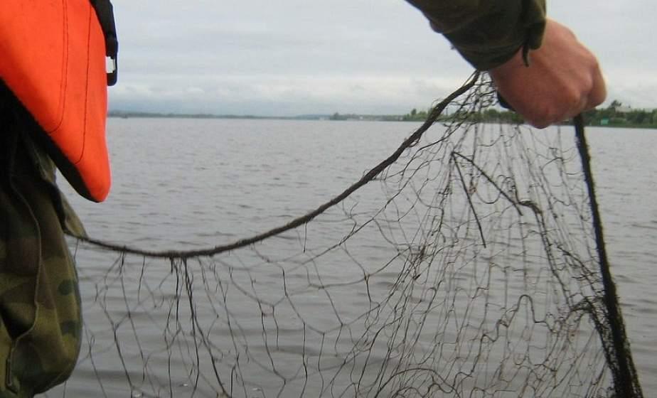 На надувной лодке с сетями. В Лидском районе задержаны два браконьера из Новогрудка