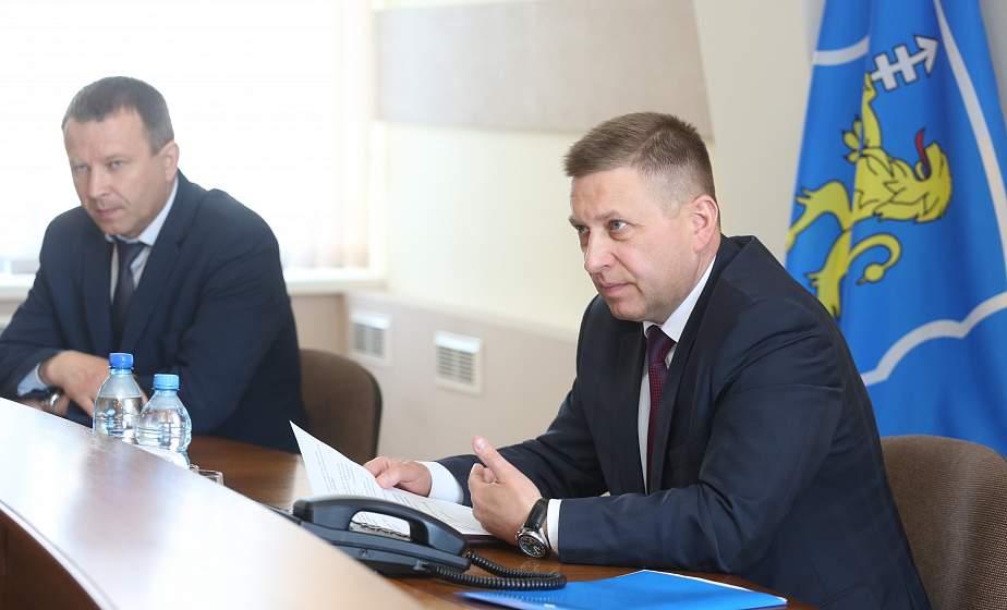 Иван Лавринович: «В этом году в области будет сделано многое по улучшению работы ЖКХ»
