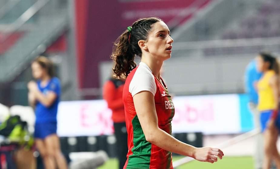 Гродненка Ирина Жук дважды побила национальный рекорд в прыжках с шестом в помещениях