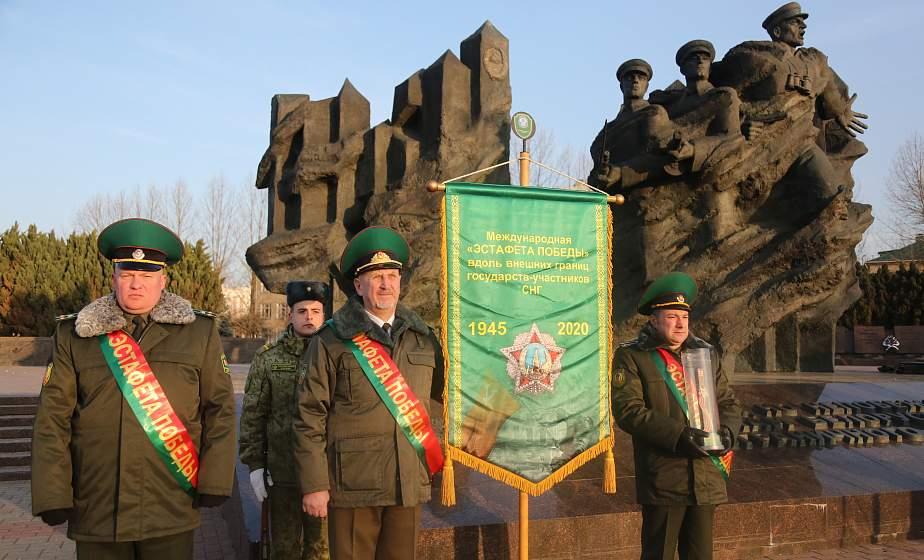 «Эстафету Победы» встретили в Гродно