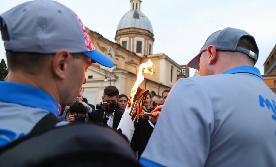 «Пламя мира» ждут в Гродно. В эстафете огня побегут разработчики MSQRD, олимпийские чемпионы и певцы
