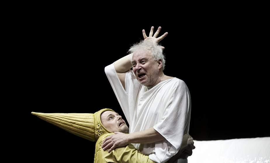 Новейшую премьеру Купаловского театра «Кароль Лір» покажут в прямом эфире VOKA