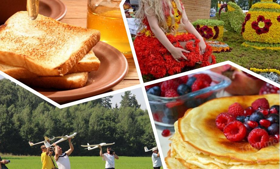 Полеты самолетов, сладкий праздник в Кореличском районе и фестиваль цветов в Желудке. Куда ехать на уик-энд?