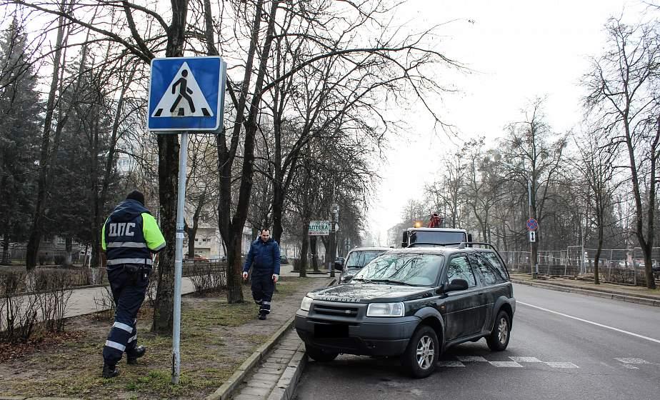 В Гродно все чаще люди попадают под машины на пешеходных переходах