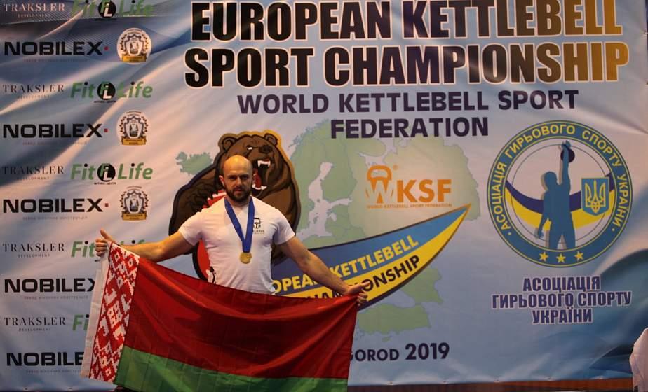 Два пуда – одной рукой: гродненский спортсмен установил рекорд Беларуси в гиревом спорте