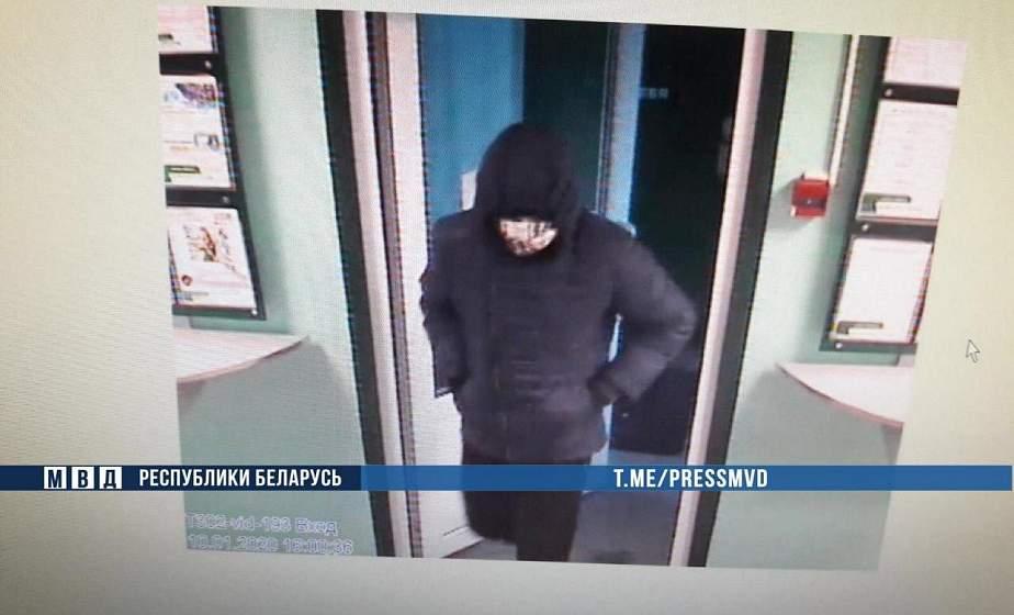 Дерзкое ограбление в Гомельской области. Милиция ищет высокого мужчину