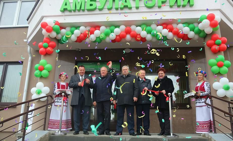 Собственная гемолаборатория, УЗИ и современная физиотерапия: в Ольшанке открылась новая амбулатория