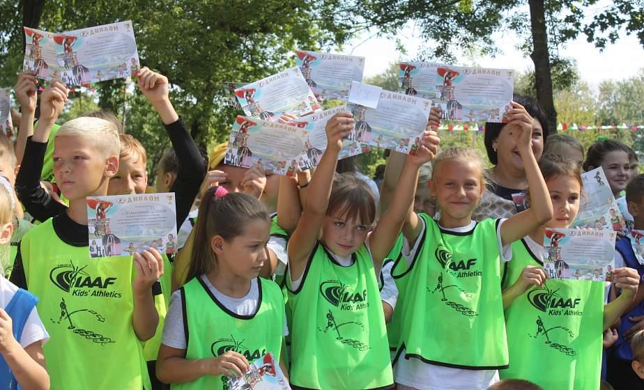 Кто из третьеклассников быстрее и сильнее? Соревнования по легкой атлетике прошли в Слониме