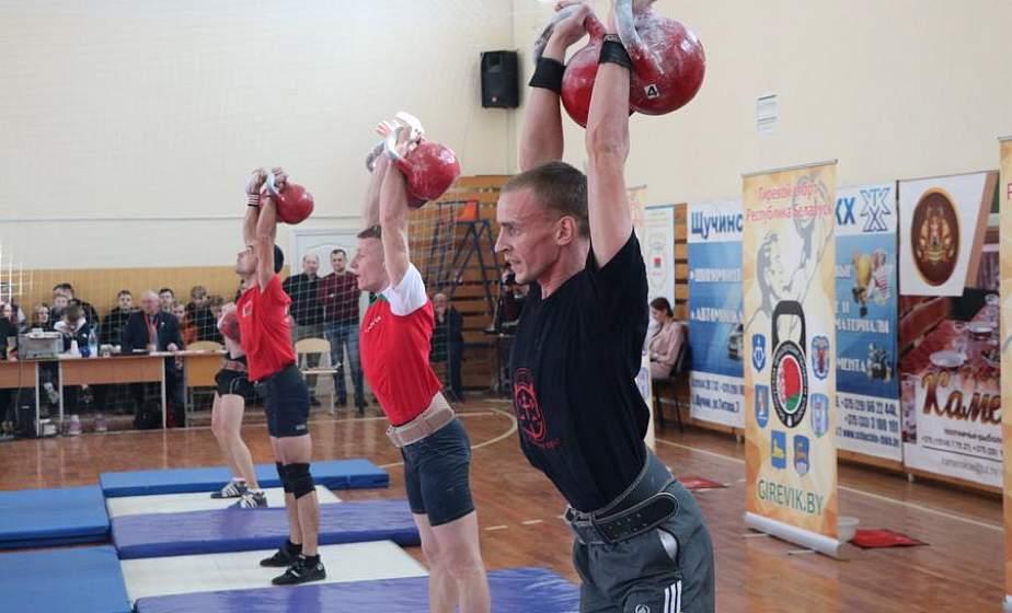 В Щучине стартовал чемпионат Беларуси по гиревому спорту
