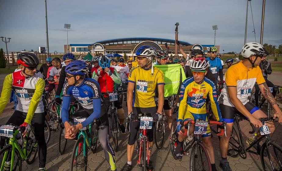 В Гродно дан старт международному велопробегу